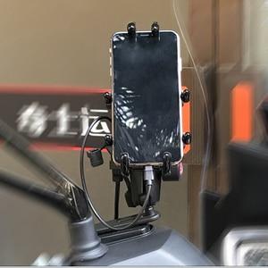 Image 3 - Đế Kẹp Điện Thoại Xe Máy Bộ Đàm Giá Đỡ Hỗ Trợ Điện Thoại Moto Chuyến Đi Du Lịch GPS Giá Đỡ Xe Đạp Hỗ Trợ Điện Thoại Di Động Giá Đứng