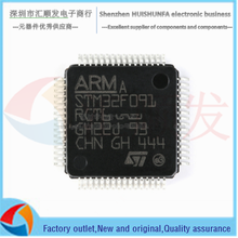 Original STM32F091RCT6 lqfp-64 ARM cortex-m0 32-bit microcontroller MCU