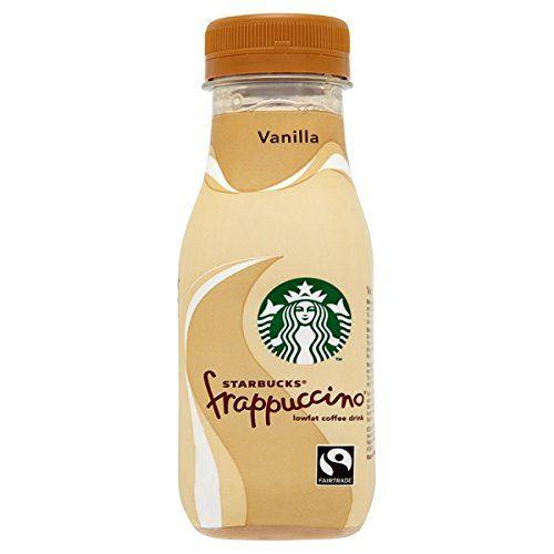 Starbucks Fairtrade Frappuccino Lowfat Coffee Drink Vanilla 250ml (Pack Of 8 X 250ml)