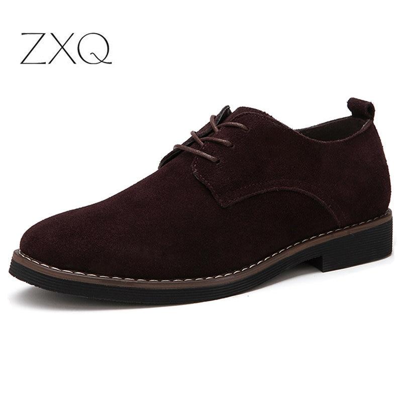 Plus Size 38 48 Oxford Men Shoes PU