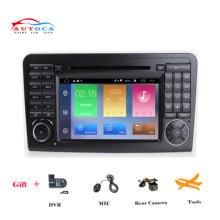 цена на IPS DSP Android 10.04G 64G CAR DVD Player For Mercedes Benz ML W164 X164 ML350 ML300 GL500 ML320 ML280 GL350 GL450 GPS Radio