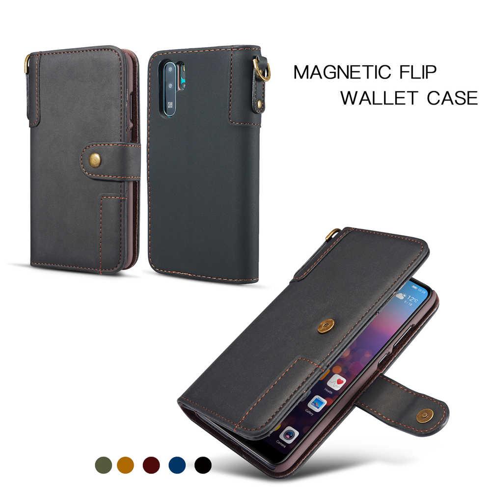 Bò Chia Da dành cho Samsung Galaxy Samsung Galaxy NOTE 10 Pro NOTE 9 8 S10E S10 5G S10 S9 S8 Plus s7 Ốp Lưng Ví Flip Đứng Retro Bao