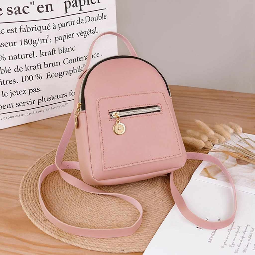 女性のためのミニバックパック女性 bagpack ファッション lders 小さなパック財布携帯電話メッセンジャー bolsas feminina