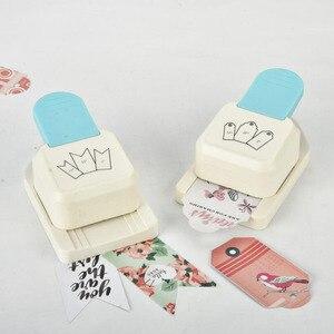 Image 4 - De Nieuwe Punch Tag top Punch straight 1.5, 2 of 2.5 inch gift Tag papier stoten voor scrapbooking craft perfurador diy puncher