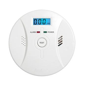 Czujnik czadu LCD praca czujnik alarmowy czujnik tlenku węgla czujnik alarmowy wyświetlacz 85dB dźwięk syreny głos dla domu wyciek gazu pożarowego tanie i dobre opinie ANENG CN (pochodzenie) ELECTRICAL NONE less than 35uA 50(±30)ppm carbon monoxide gas The green LED flashes once every 17 seconds