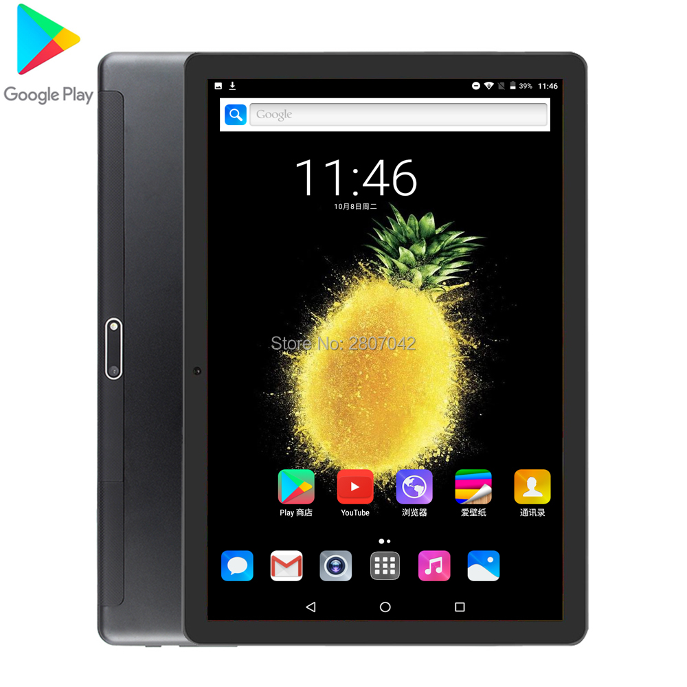 2020 New Genuine 10.1 Inch Android 9.0 Tablet PC Quad Core 32GB  ROM 3G/4G LTE Smart Phone GPS WIFI Android 9 Tablets 10