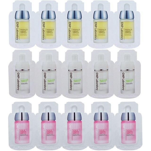 CNP Laboratory Vita-B Energy Ampule Sample Mugener Moisturizing face Essence Glowing Skin Whitening Propolis Energy Facial Serum 1