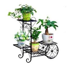 Дизайнерская подставка для цветов в виде корзины, железная подставка для цветов, стойка для комнатных цветов, металлический садовый декор для велосипеда, металлическая напольная полка с медведем, тяжелый вес