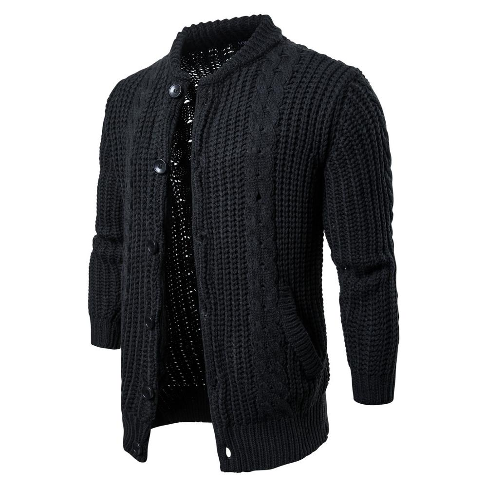 Mens Cotton Sweater Pullovers Men O-neck Sweaters