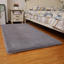 Новый нескользящий кроличьи меховой прикроватный диван для спальни