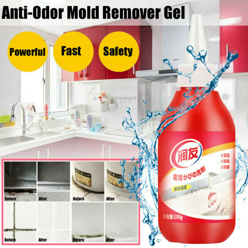 Kitchen Bathroom Anti-Odor Mold Remover Powerful Mold Remover Gel Japanese Formula Cleaner Contains Chemical Moisture Absobers