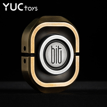EDC Professional Brass Fidget Spinners Copper Metal Fingertip Gyro Toy for Kids Adults Relief Stress Office BIT Rounded Corners
