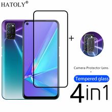 4in1 Protective Glass For OPPO A72 Tempered Glass For OPPO A72 A52 A53 A32 A15 A5 A9 Camera Screen Protector Film For OPPO A72 cheap HATOLY Tempered Film CN(Origin) Front Film Tempered Glass For OPPO A52 Tempered Glass For OPPO A92 Tempered Glass For OPPO A9 2020