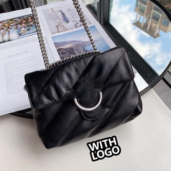 Luksusowy projektant torebki damskie torebki damskie 2020 skórzana torba moda torba crossbody projektant torebki wysokiej jakości tanie i dobre opinie FLAP CN (pochodzenie) PRAWDZIWA SKÓRA WOMEN Stałe Versatile Otwór na wyjście Kieszonka na telefo Wewnętrzna kieszeń na zamek błyskawiczny