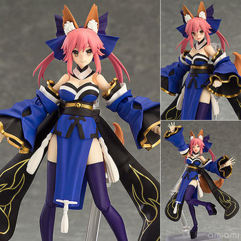 Anime Fate Extra Fate Grand Order Caster Tamamo No Mae Figma 304 PVC Figma Figures Model Doll Toy Gift 1