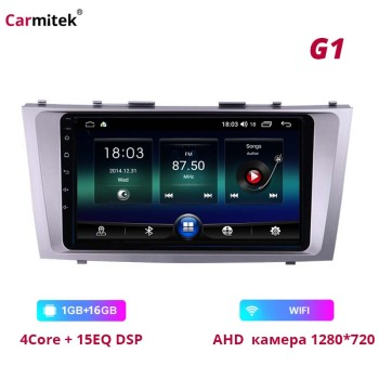 Carmitek For Toyota Camry 40 50 2006-2011 DSP WIFI GPS Navigation Android stereo head unit Bluetooth Radio Multimedia Player image