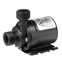 Details about  /DC 12V 24V Solar Water Pump Shower Quiet Circulation Systems Brushless Motor
