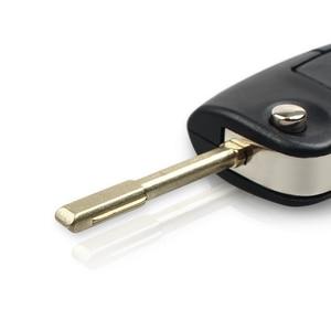 Image 4 - Складной автомобильный пульт дистанционного управления KEYYOU 433 МГц с 3 кнопками для FORD Mondeo Focus Fiesta C Max S Max Galaxy