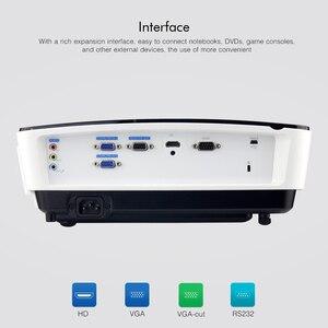 Image 5 - BYINTEK K5 Ngắn Ném 4000ANSI Full HD 1080P Video DLP 3D Trên Đầu Máy Chiếu Beamer Cho Ánh Sáng Ban Ngày Lớp Học Giáo Dục văn Phòng