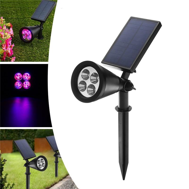 Growing Lamps 16 LED Solar Plants Grow Light 2835SMD Garden Greenhouse Flower Vegetable Bulb Lamp Solar Grow LightS