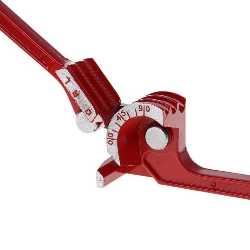 90° 3 IN 1 Pipe Bender Heavy Duty Tube Curving Plumbers Gas Copper Bending Tools