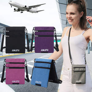 Wallet Small-Bag Document Hanging Neck Mobile-Phone-Bag Travel Waterproof Single-Shoulder