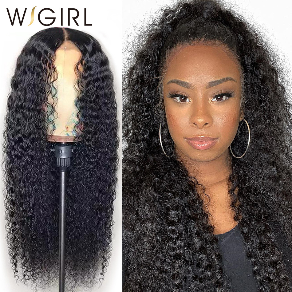 Wigirl Malaysian Remy 13x4 Lace Front Human Hair Wigs 28 30 Inch Deep Wave Long Frontal Wig For Black Women