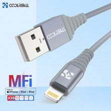 Coolreall MFi Lightning Cable USB Fast Charging For iPhone Apple Data Charger Cable For Phone X XS Max XR 8 7 6S 6 Plus 5S SE 5(China)