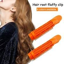 Rodillos para rizar el pelo, formadores De ondas Roots, voluminizador De Cabello, Clip esponjoso, herramienta De estilismo, 2 uds., cuidado del Cabello, TSLM1