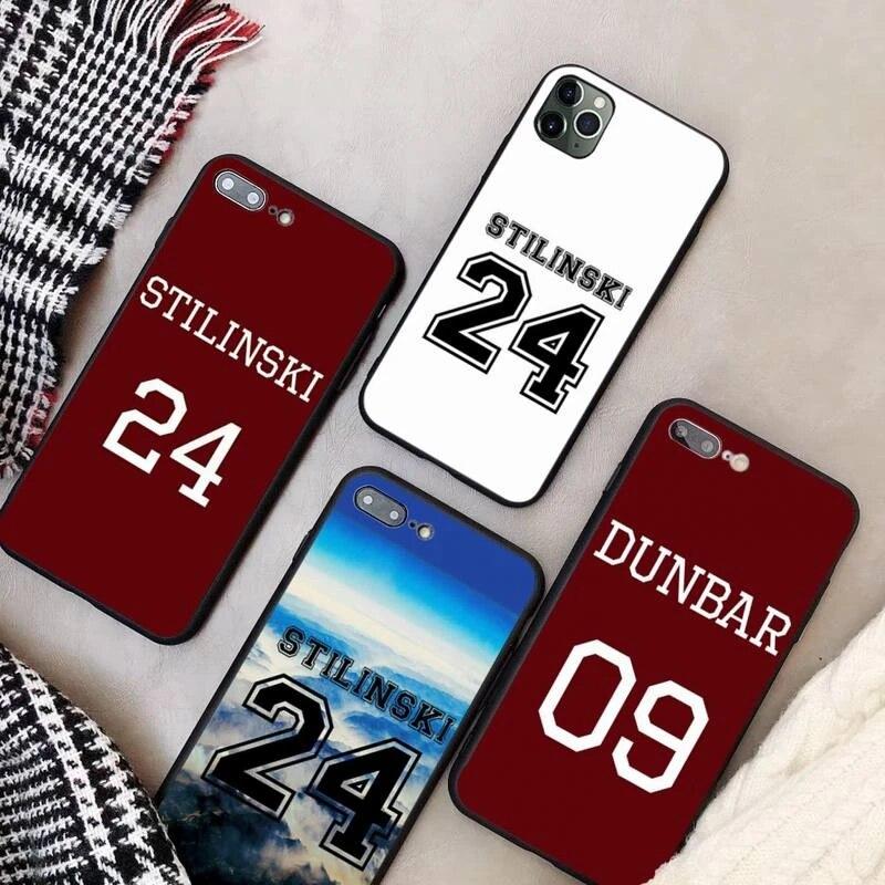 Coque iphone 11 coque TeenWolf Stilinski 24 coque fundas pour iphone 11 PRO MAX X XS XR 4S 5S 6S 7 8 PLUS SE 2020 coques housse