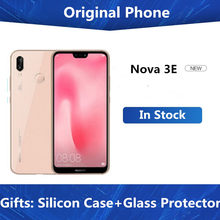 "Global Firmware Huawei P20 Lite Nova 3E 4G LTE Mobile Phone Face ID 5.84 ""Layar Android 8.0 24MP kamera Depan 4GB 128GB ROM(China)"