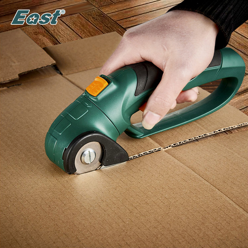 EAST ET2806 Power Tools 3.6V Li-ion Battery Cordless Multifunction Electric Cutting Knife Electric Scissors For Fabric Carpet