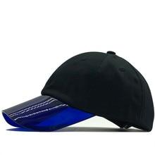 Prosta bawełna letnia czapka z daszkiem dla dziewczynki czapka typu snapback przezroczysta czapka z daszkiem gorras casual casquette damskie do koszykówki
