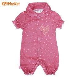 Barboteuses coton, vêtements bébé pour fille, Kotmarkot, nouveau-né, nouveau-né bébé fille-garçon combinaisons, salopette, 6500601