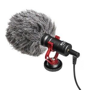 Image 4 - Diodo emissor de luz microfone tripé handheld aperto da mão montagem + sapato quente para dji osmo handheld estabilizador kit osmo móvel 4 3 acessórios