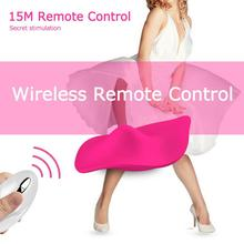 Good Healthy Invisible Wearable Wireless Remote Control Vibrating Egg Jumping Female Utensils 68 speed wireless remote control egg for women