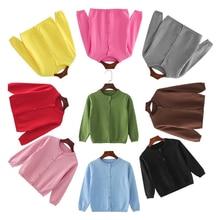 2021 New Baby Boys Jacket Children's Knitwear Jacket Boys Girls Cardigan Fall/Winter Baby Jacket Infant Sweater 1 Piece
