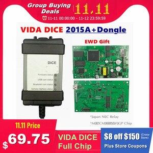 Image 1 - Nuovo 2015A + Dongle 1999 2019 Per VOLVO VIDA DADI 2014D Pieno di Chip Multi Language Verde PCB Origianal chip EWD Regalo