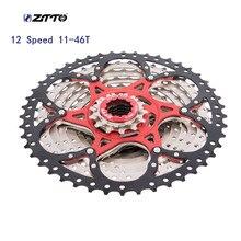 ztto MTB Bike 12 Speed Cassette 11-46t Freewheel cassete velocidade k7 cassette speedsunshine