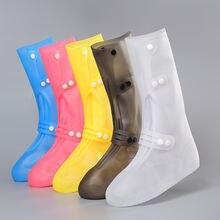 Женские ботинки На дождливую погоду многоразовые силиконовые