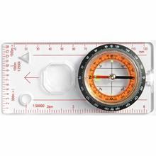 Портативный Компактный точный компас HiMISS, 1 шт., практичная направляющая для кемпинга, походов, Северной навигации, кнопка выживания, дизайн ...