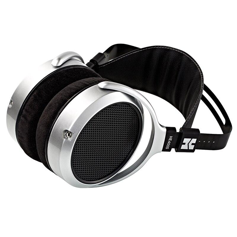 Top Sale©HIFIMAN Planar Magnetic Headband Earpads Comfortable Adjustable HE400S with Open-Back-Design