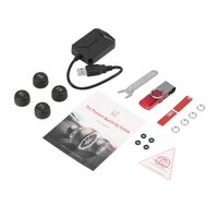 Universal USB Car TPMS Android Tire Pressure Monitoring System with 4 External Sensors Auto Security Alarm Systems