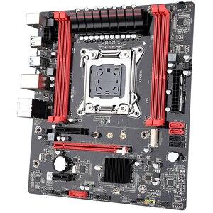 Image 5 - JINGSHA X79 motherboard set with Xeon E5 2640 4x8GB 32GB 1600MHz DDR3 ECC REG memory ATX USB3.0 SATA3 PCI E NVME M.2 SSD