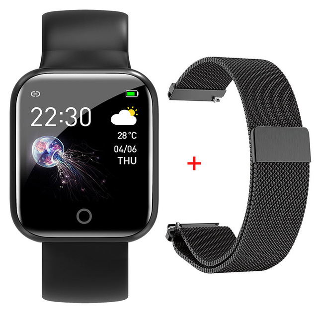 I5 Waterproof Sports Smart Watch For Huawei IPhone Xiaomi Samsung Android IOS Muti-Functions Wristband Silicone Strap Bracelet