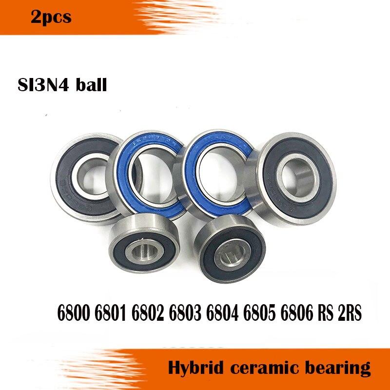 2pcs 6900 6901 6902 6904 6905 6906 6907 6908 6910ZZ Deep Groove Ball Bearing