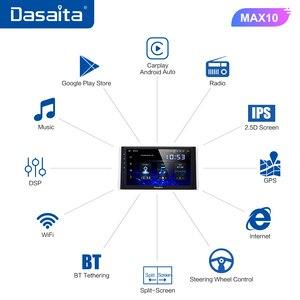 "Image 4 - Dasaita 10.2"" IPS screen Car Multimedia Android 10.0 for Toyota RAV4 Radio 2018 2019 TDA7850 GPS Bluetooth Car Stereo MAX10"