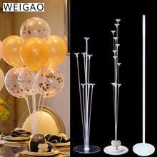 Balloon Holder Stand Ballons Accessories Arch Chain Sealing Clip Glue Dot Babyshower Wedding Birthday Party Decorations