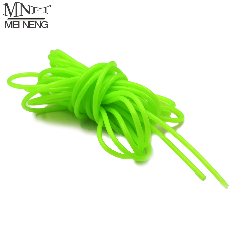 MNFT 5M Fishing Night Luminous Tube Green Soft Silicone Fishing Sleeves Fishing Rig Hook Line Glow Pipe Light Tackle