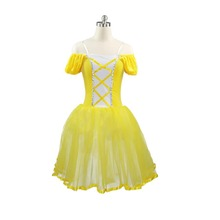 Free Shipping!!Yellow Giselle Ballet costume,blue Romantic ballet tutu custom made,royal long tutu, classical